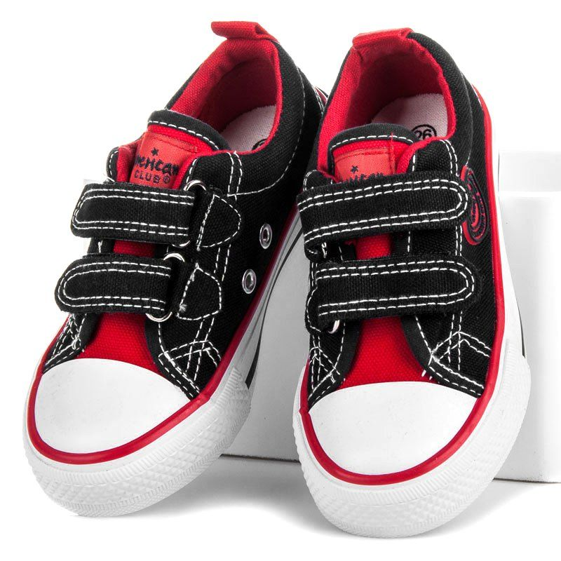 American Club Trampeczki Dla Chlopca Czarne Baby Shoes Shoes Fashion