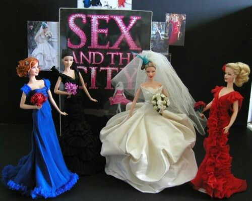 Dolls from Sex and the City