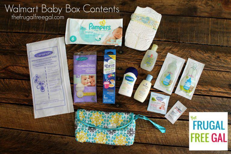 Walmart baby box contents | walmart baby, baby box, free baby stuff.