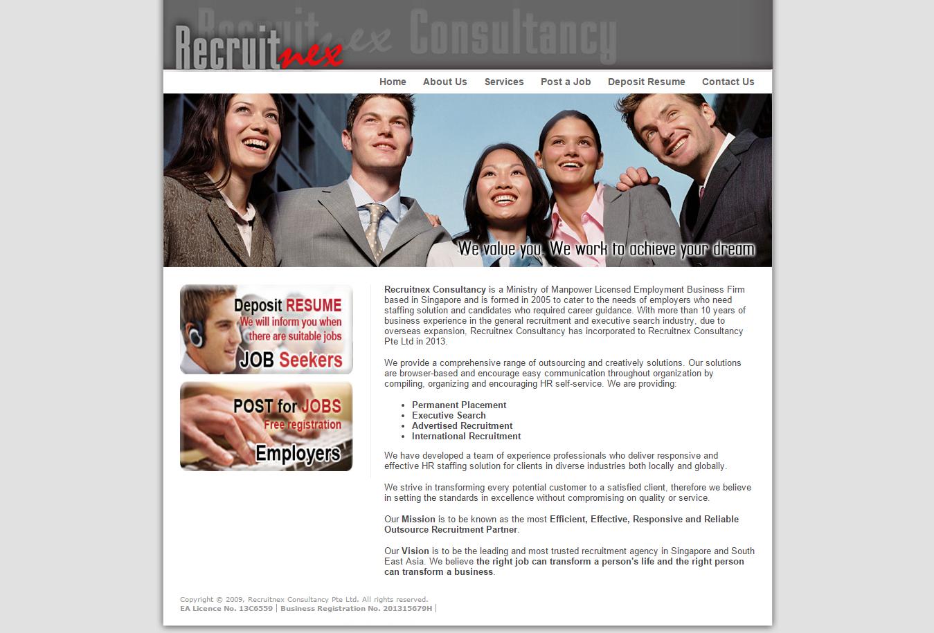 Website Templates Design Proposal For Adecco Singapore Website Template Design Website Template Template Design
