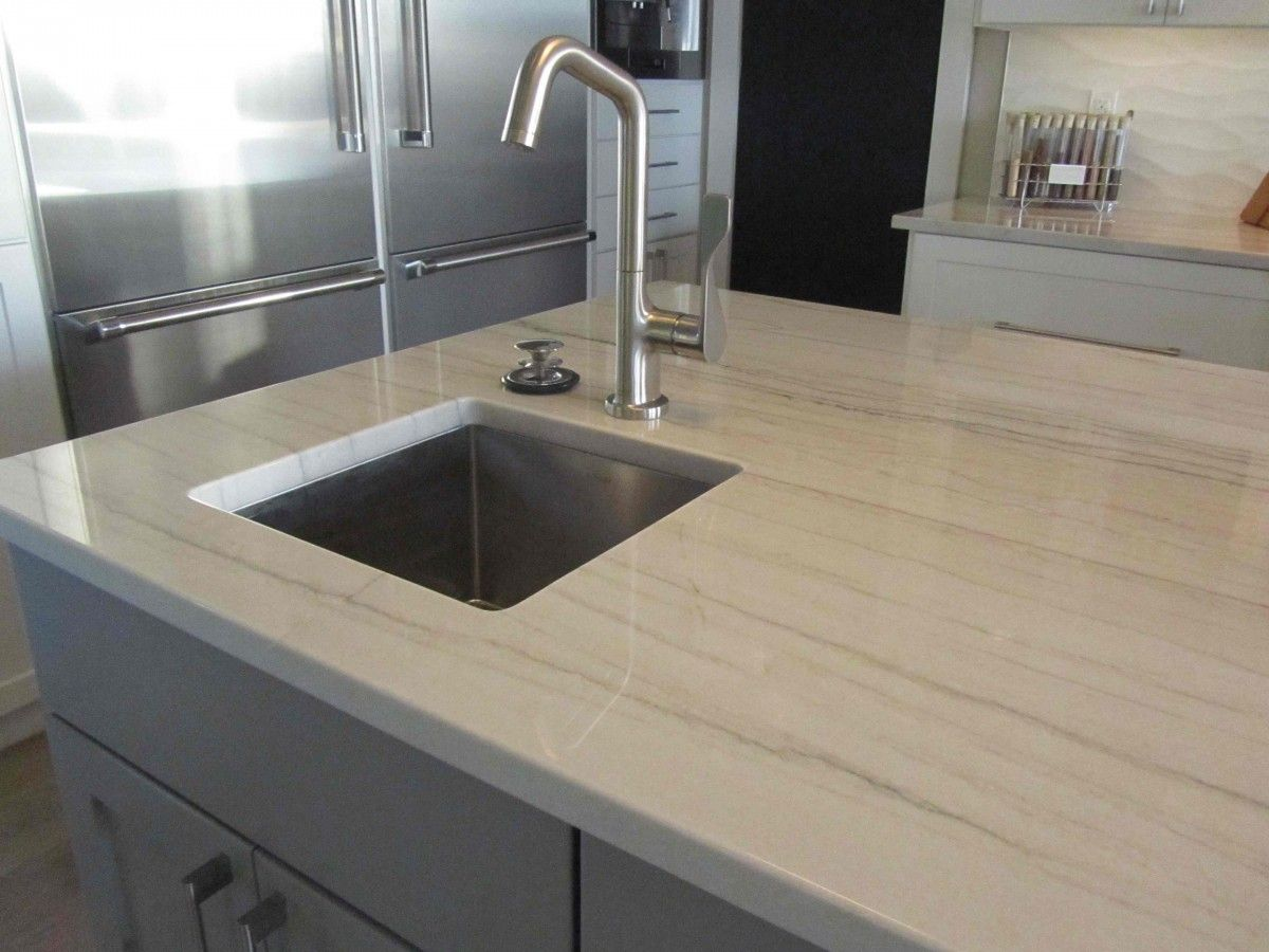 Lovely White Macaubas Quartzite Kitchen Countertops   Grey Goose/super White Is An  AN Fave
