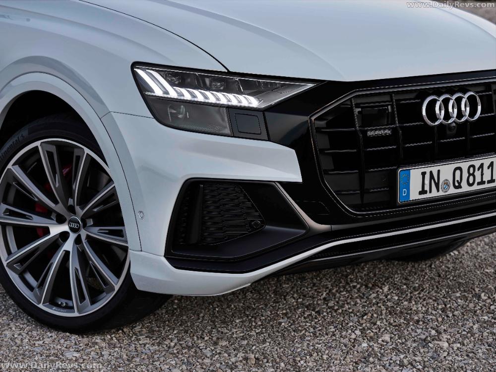 2021 Audi Q8 Tfsi Dailyrevs Audi Audi Cars New Cars