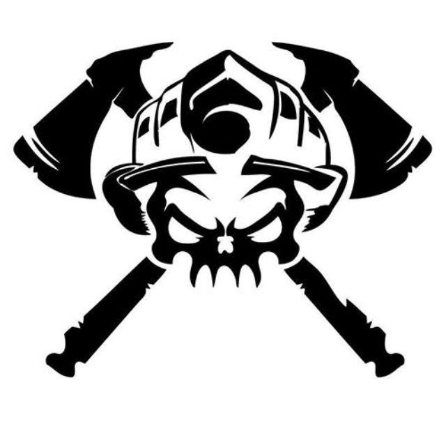Pin Von Xschollix Auf Tattoos Feuerwehr Tattoo Feuerwehr Logo Vinyl Aufkleber