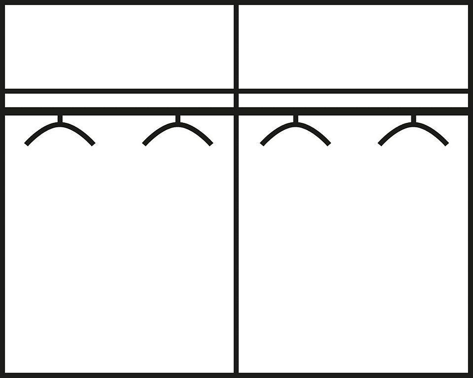 Wimex Schlafzimmer-Set mit Drehtürenschrank (4-tlg) Jetzt bestellen