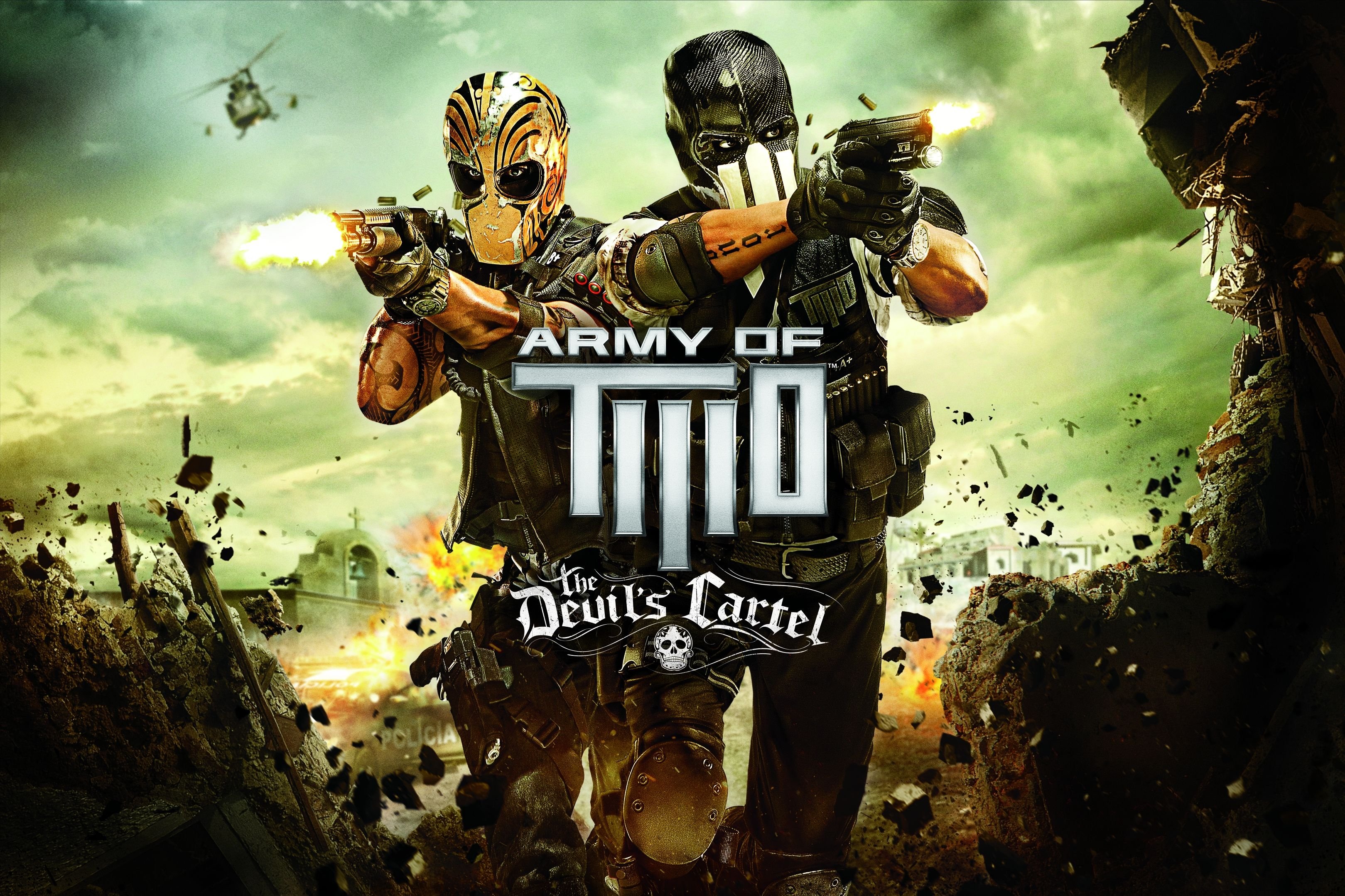 Army Of Two The Devils Cartel Art French Video With Images