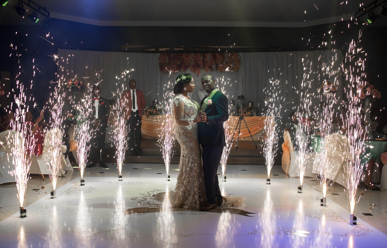 African Wedding Gabonese Newly Weds Jeunes Maries