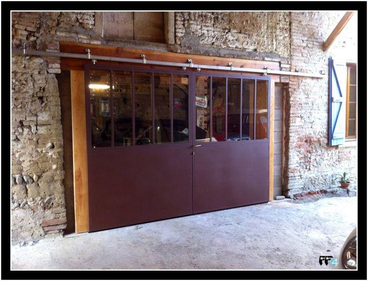 Porte garage atelier recherche google deco idea for Porte de garage et bloc porte style atelier