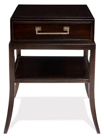 Sevara Nightstand, Dark Espresso - Nightstands - Bedroom - Furniture - Lane Bedroom Furniture