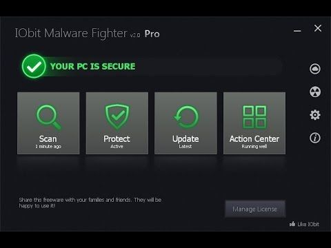 Iobit Malware Fighter 3 3 Lifetime Serial Key Free Download