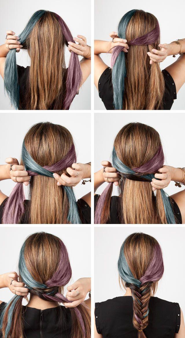 6 Easy Diy Braids Medium Hair Braids Hair Styles Quick Braids