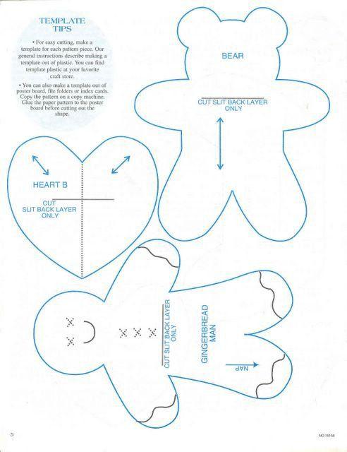 patrons tissus figurines de no l pinterest les cartons le sapin et le ruban. Black Bedroom Furniture Sets. Home Design Ideas