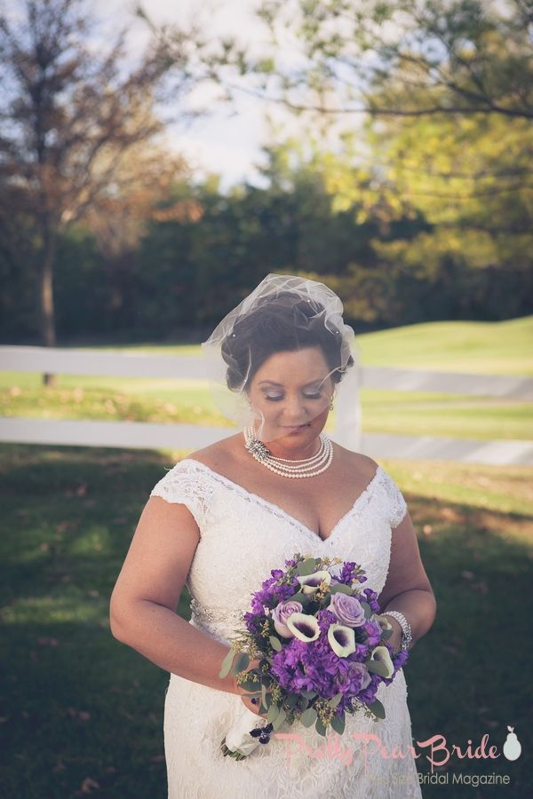 Plussize Bride Intimate Wedding At A