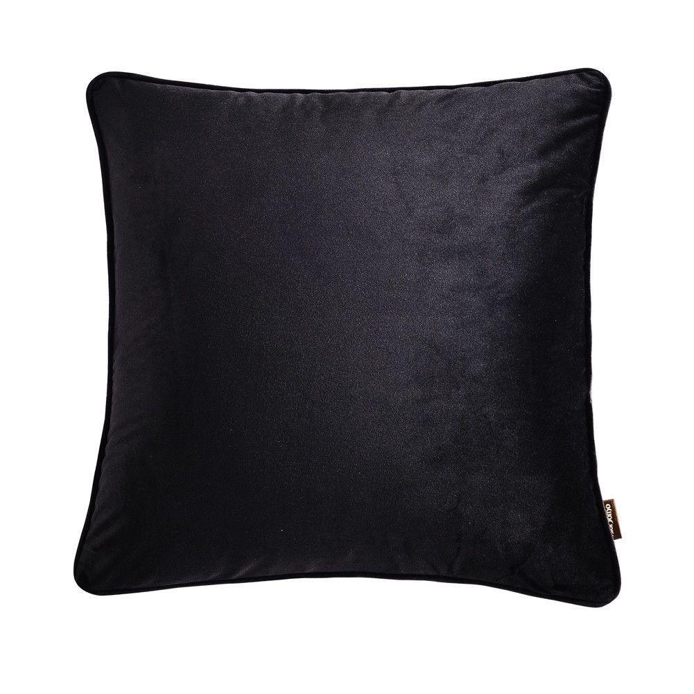 18Pc Black Velvet Couch Throw Cushion Cover Sofa Waist Pillow Case ...