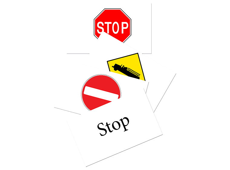 Flash Cards Road Signs Review Your Road And Safety Signs