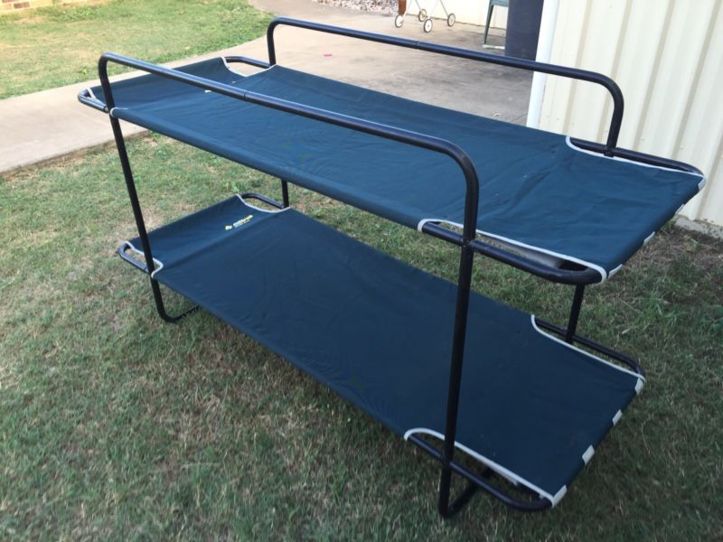 Oztrail Double Bunk Beds/Camping beds Camping & Hiking