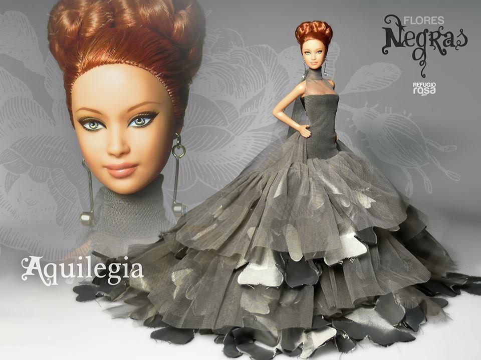 Aquilegia OOAK Barbie Doll de David Bocci