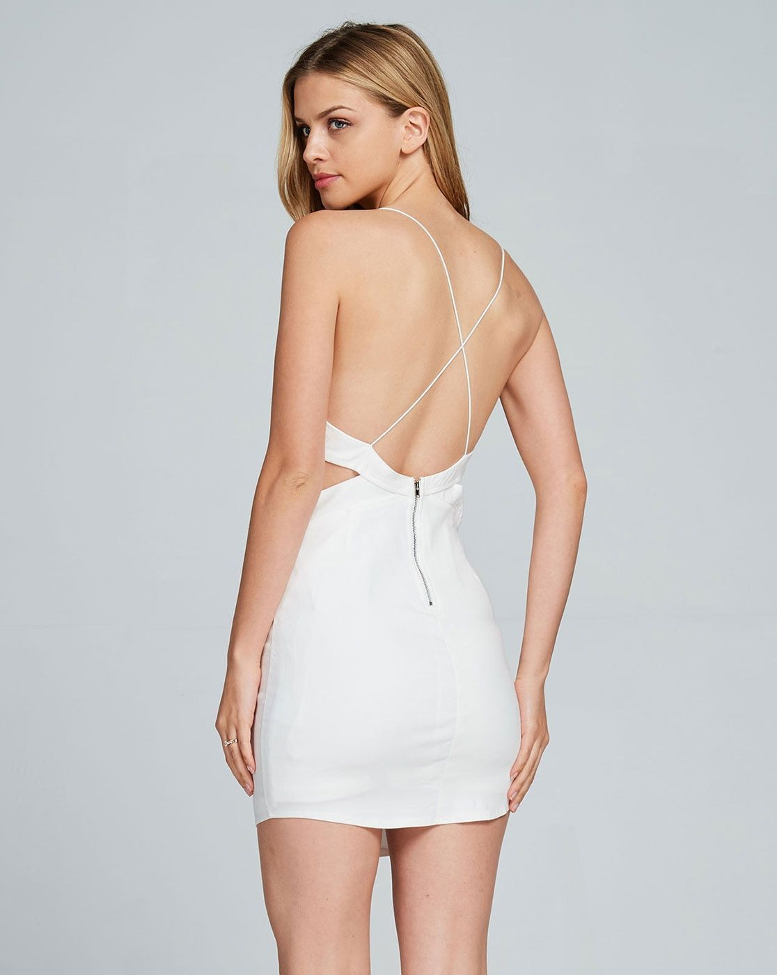The All White Mini Party Dress is one of our most popular summer dresses.  Who could resist this super seductive silhouette. It features perfectly  placed ... 940db6cb5