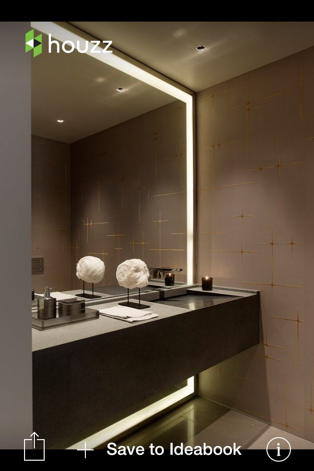 Big Vanity Mirror With Lights Brilliant Nice Big Mirrow  Bathroom  Pinterest  Nice Big And Bath Design Ideas
