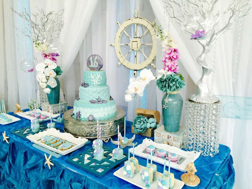 Under The Sea Quinceanera Party Ideas Quinceanera Themes Sea