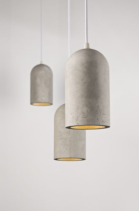 #product design #industrial design #pendant lights #concrete #minimalism - Chinese studio Bentu Design creates furniture and lighting using cement and ... & product design #industrial design #pendant lights #concrete ...