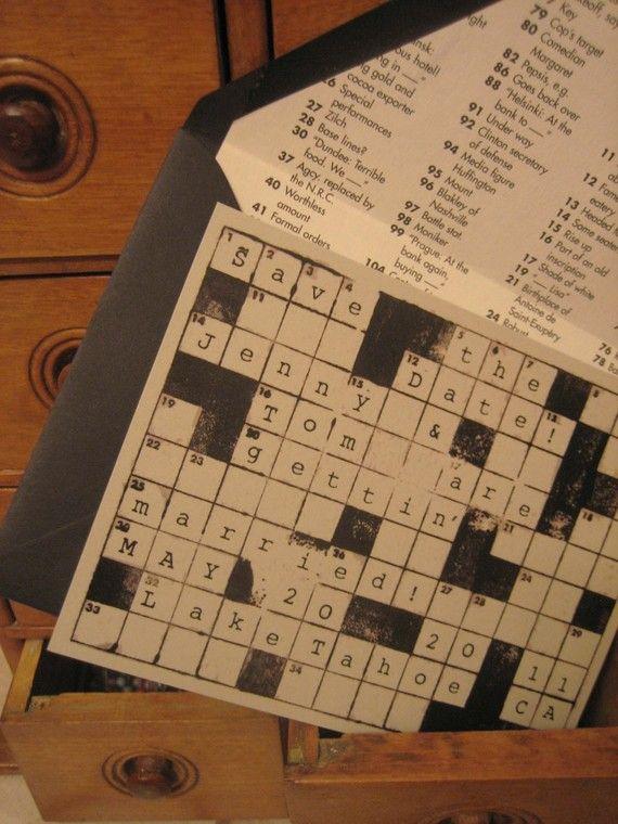 Crossword puzzle dating