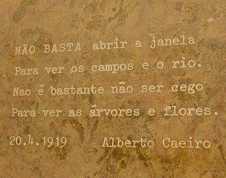túmulo de Pessoa - Alberto Caeiro
