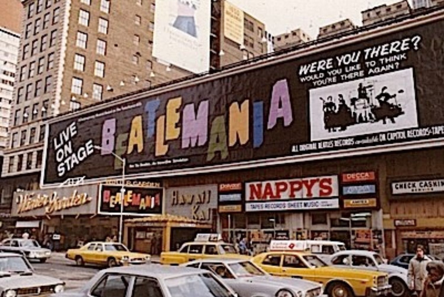 broadway marquee beatlemania winter garden theatre theatre