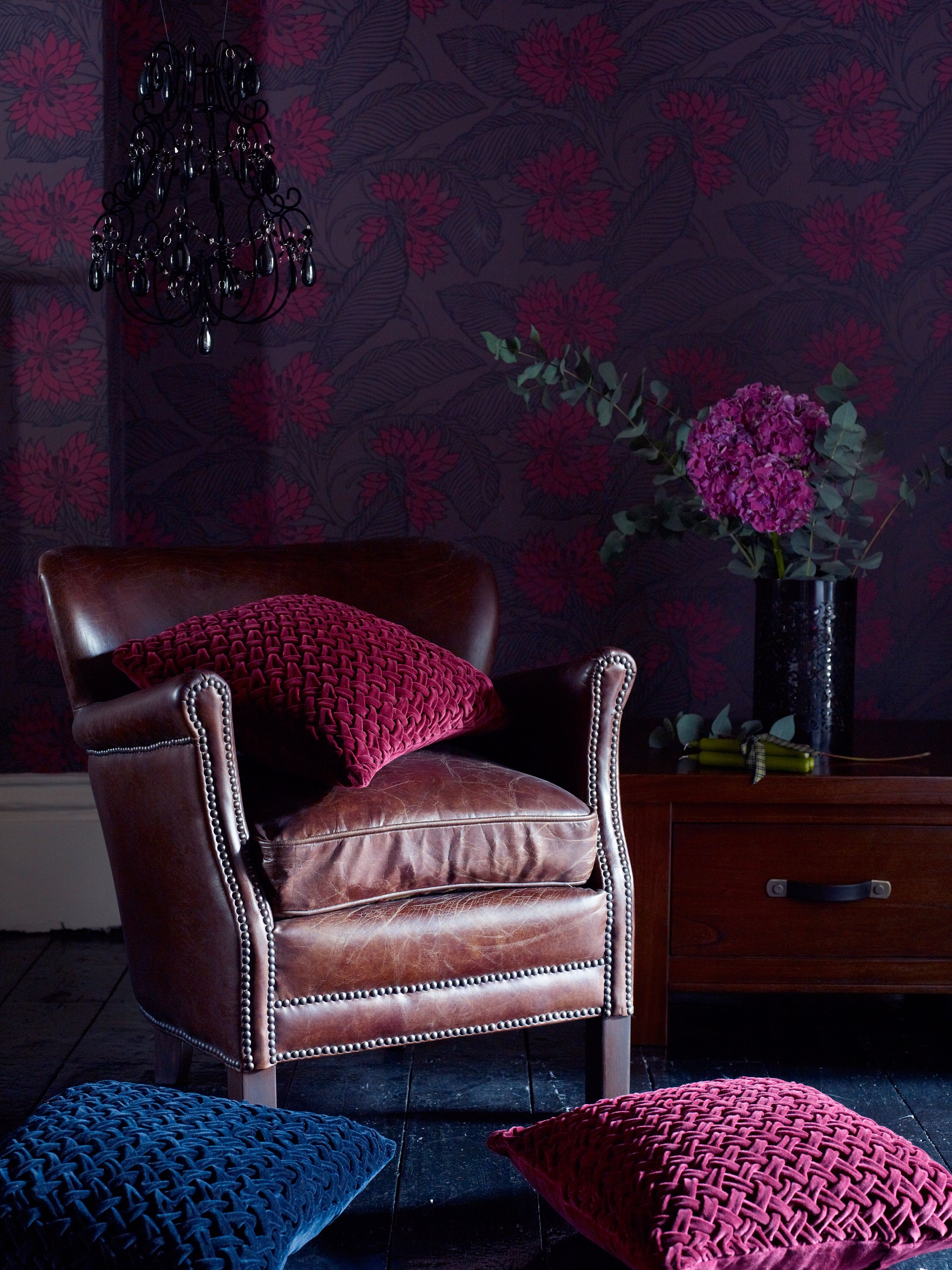 Love these purple shades the perfect cosy winter colour scheme