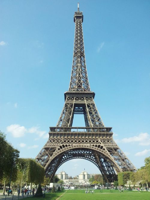 Monuments Top Five Monuments In France France Eiffel Tower Eiffel Tower Monument France