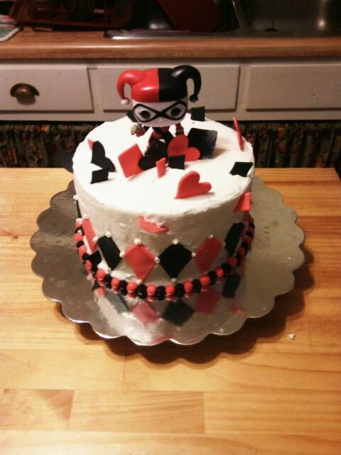 Harley Quinn Hmm Bday Cake Megan 16th Pinterest Harley Quinn