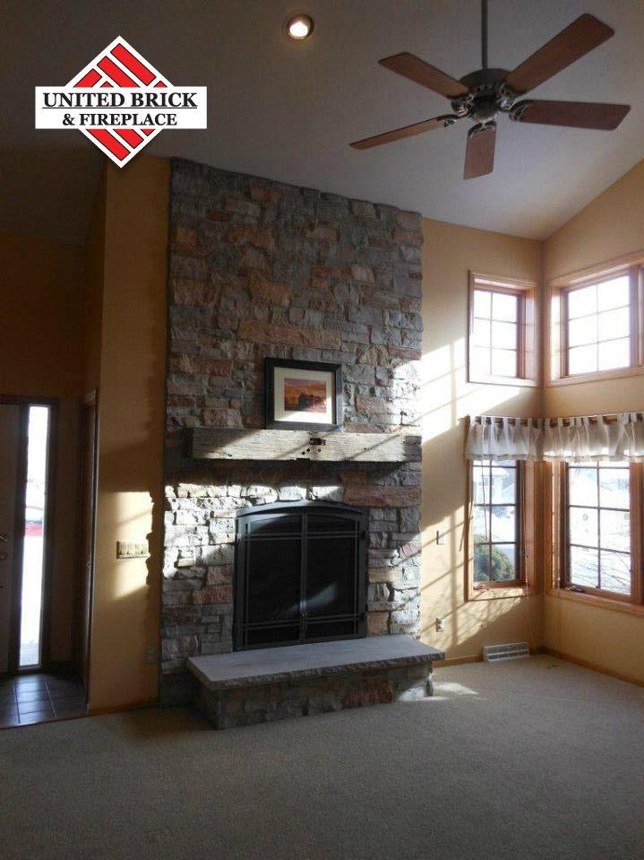 Regency B36xt Halquist Maple Ridge Stone Fireplace Brick Home