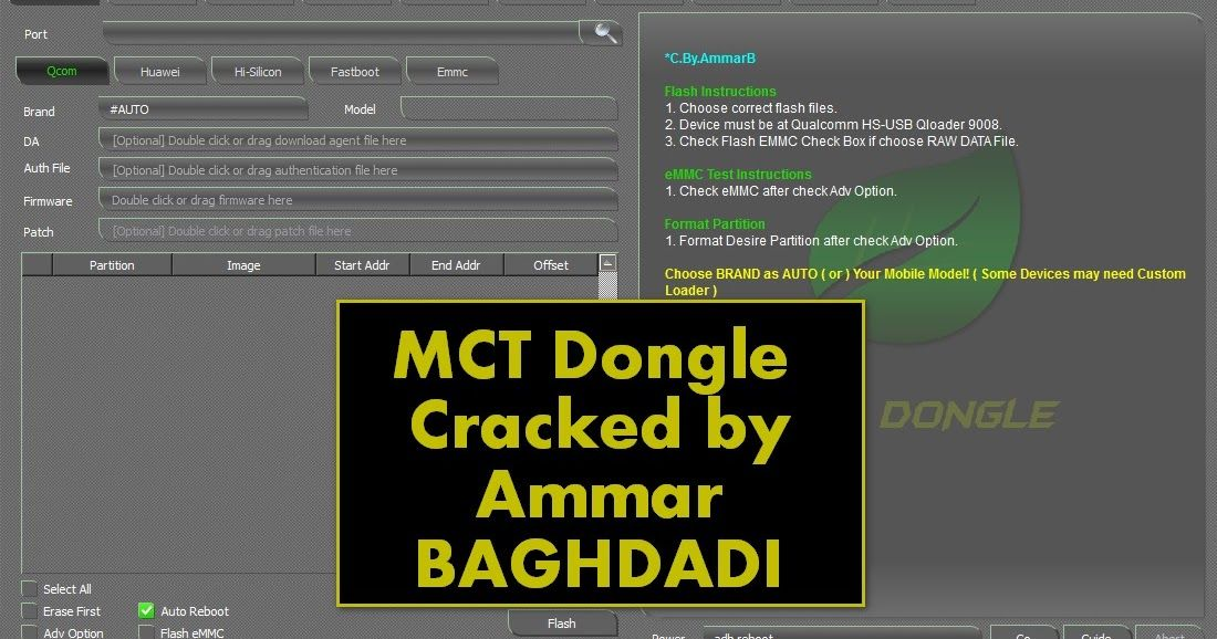 Download MCT Dongle Pro v2 0 4 Cracked by Ammar Baghdadi Feature