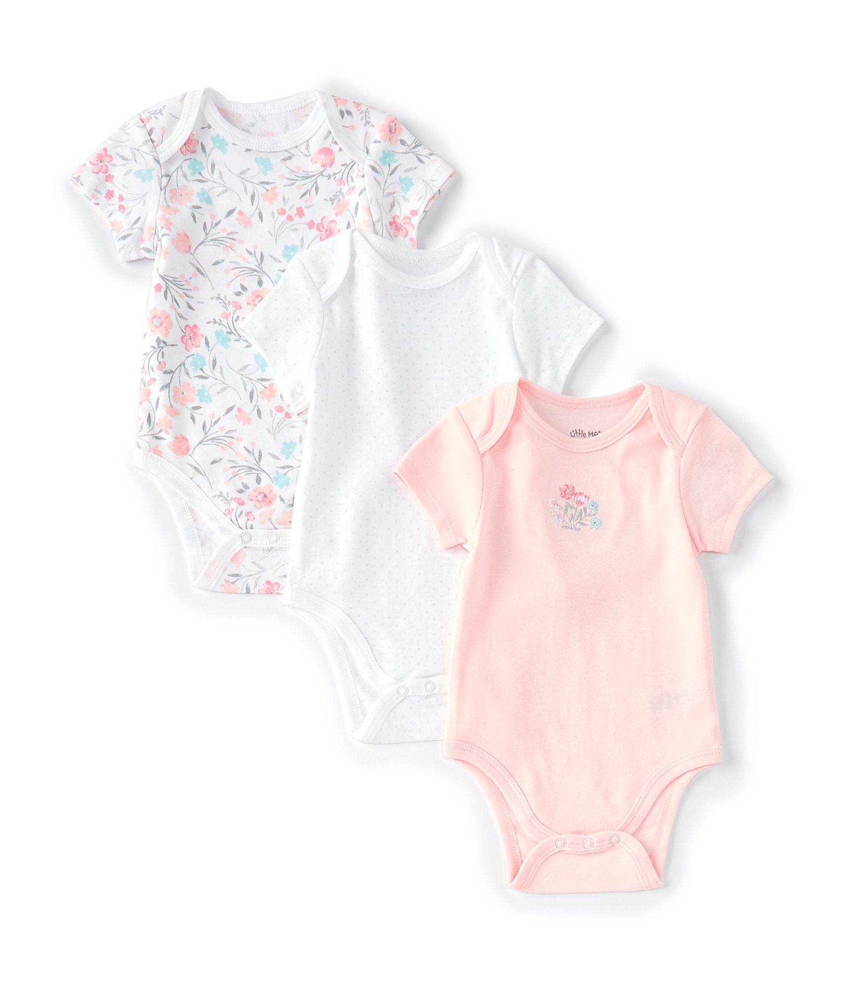 Newborn Baby Boys Bodysuit Short-Sleeve Onesie Cute Giraffe Print Outfit Summer Pajamas