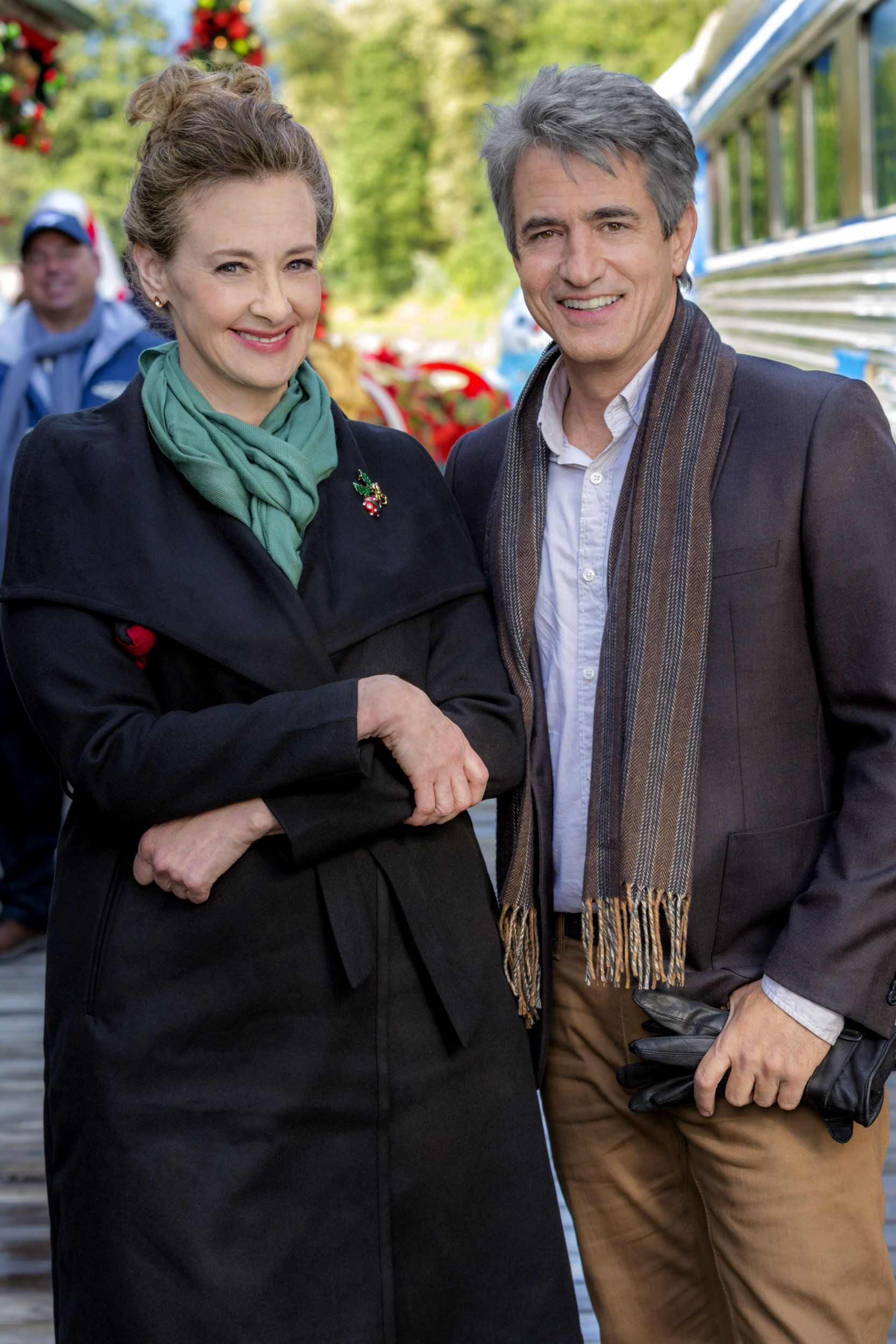 The Christmas Train.The Christmas Train Finds Dermot Mulroney And Joan Cusack On