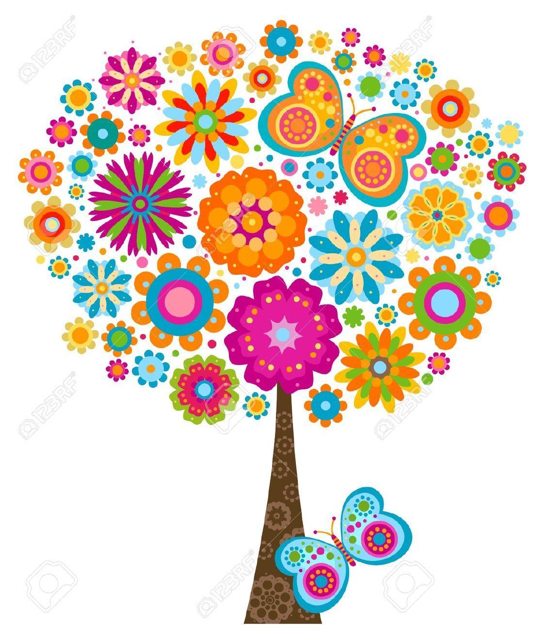 Flores animadas buscar con google decoracion agendas y for Decoracion de paredes infantiles
