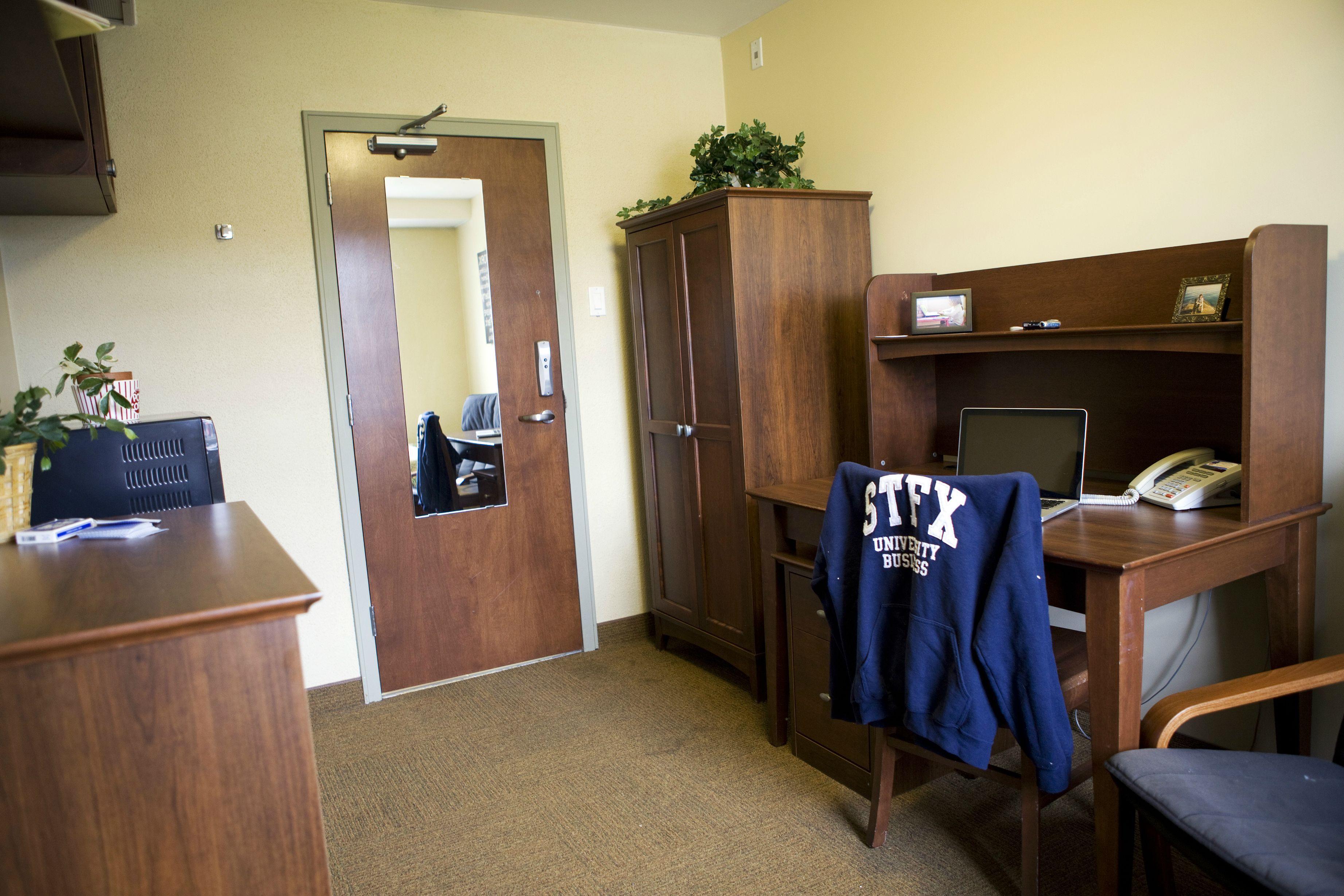 Single Bishops Bishops Hall Dorm Room Dorm Room
