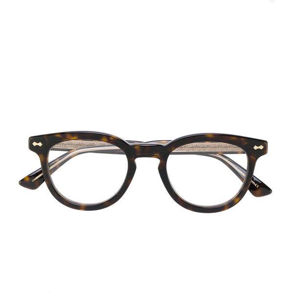 round framed sunglasses - Brown Gucci pAkjAnX
