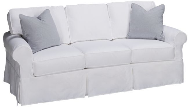 Rowe   Nantucket   Sofa With Slipcover   Jordanu0027s Furniture
