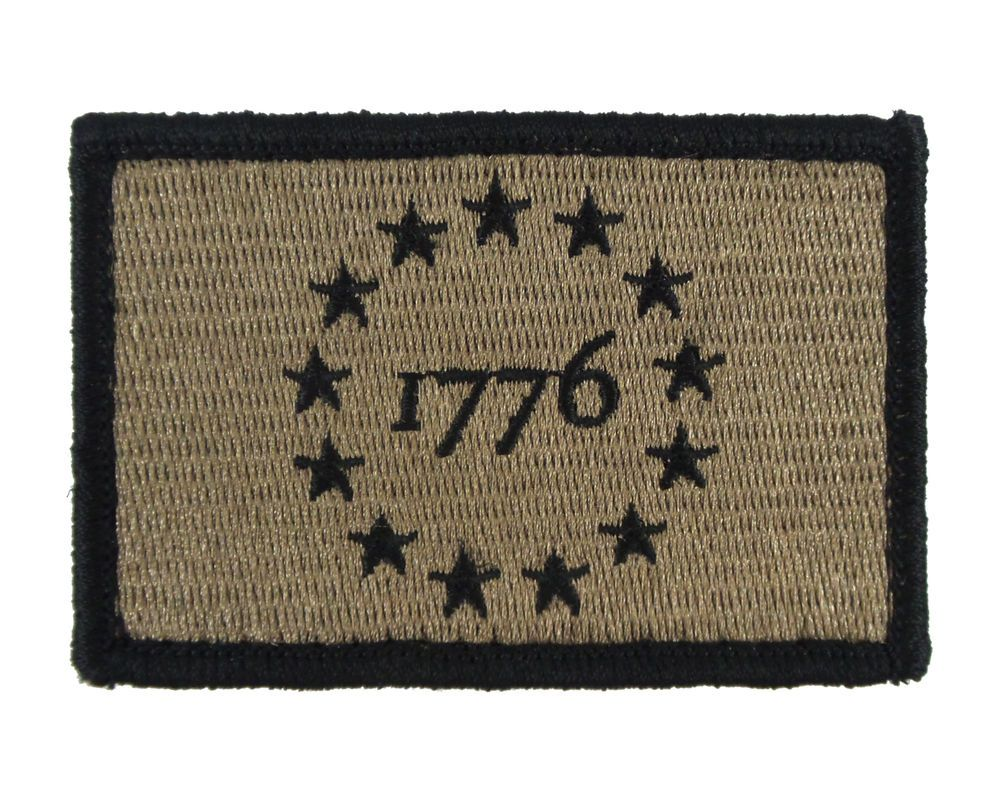 Lord of the Rings Subdued Morale Patch Tactical Military Army Badge Hook Flag