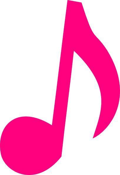 Pink Music Notes Clip Art Pink Music Note Clip Art Notas Musicais Coloridas Moldes De Peixes Lembrancinha Masha E Urso