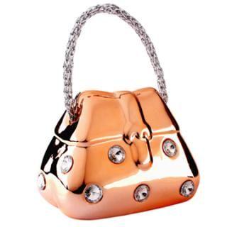 Lady Bag Money Box Ceramic Gift Cash Bank Art Piggy For S