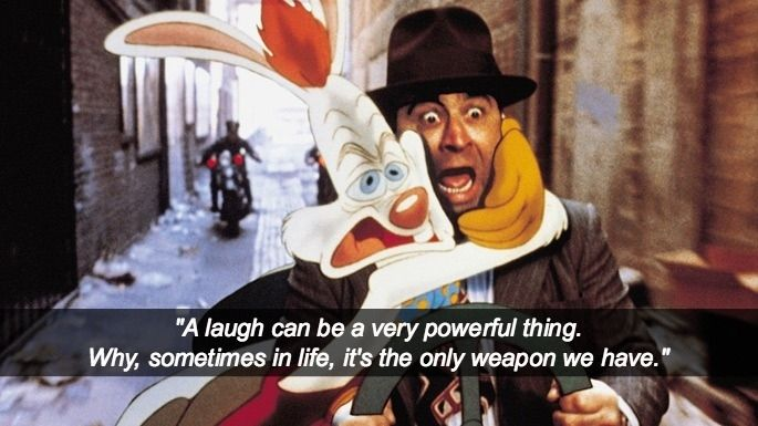 Wise Beyond Your Years Quotes: Who Framed Roger Rabbit (1988)
