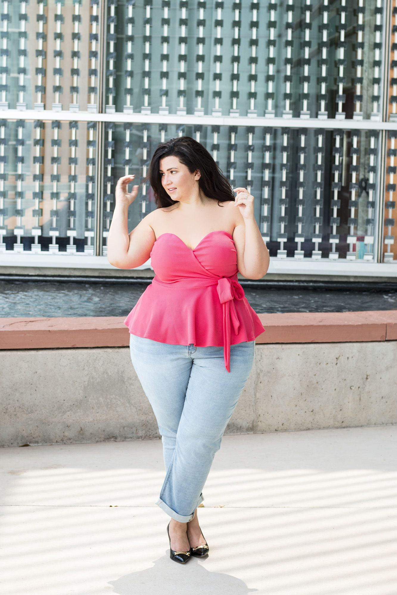 a28dd8d869fb gwynnie bee plus size ootd sometimes glam crystal coons fashion what to wear