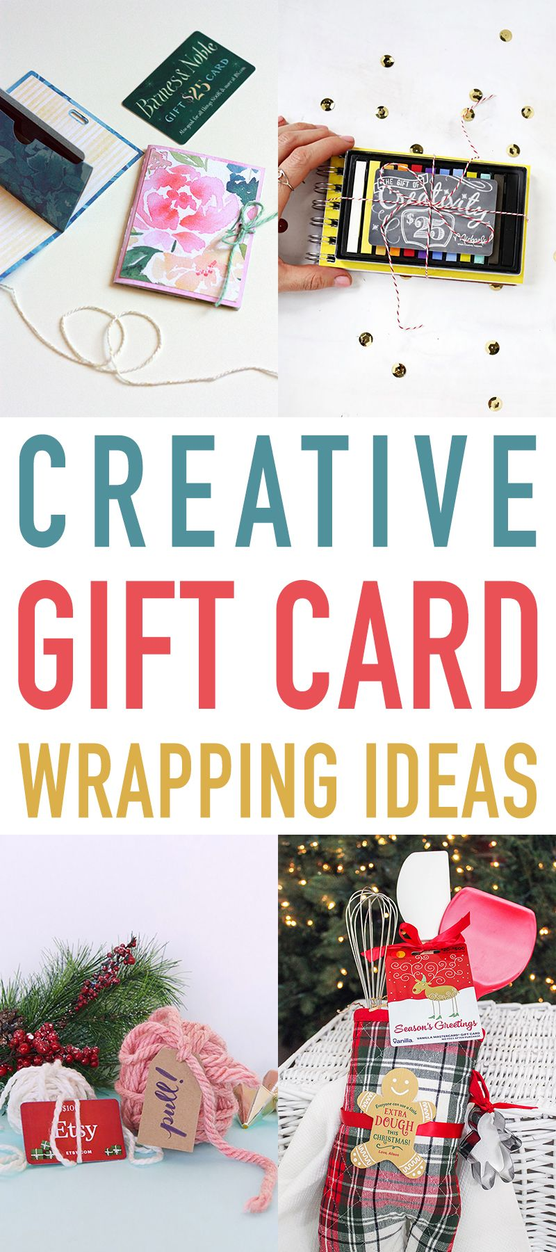 Creative Gift Card Wrapping Ideas Gift Card Presentation