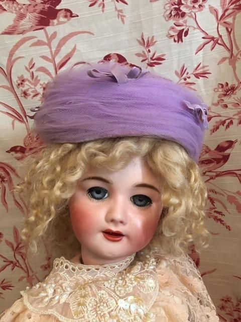 Lavender Tulle Pillbox Hat 1960s  eceecb8fbfa