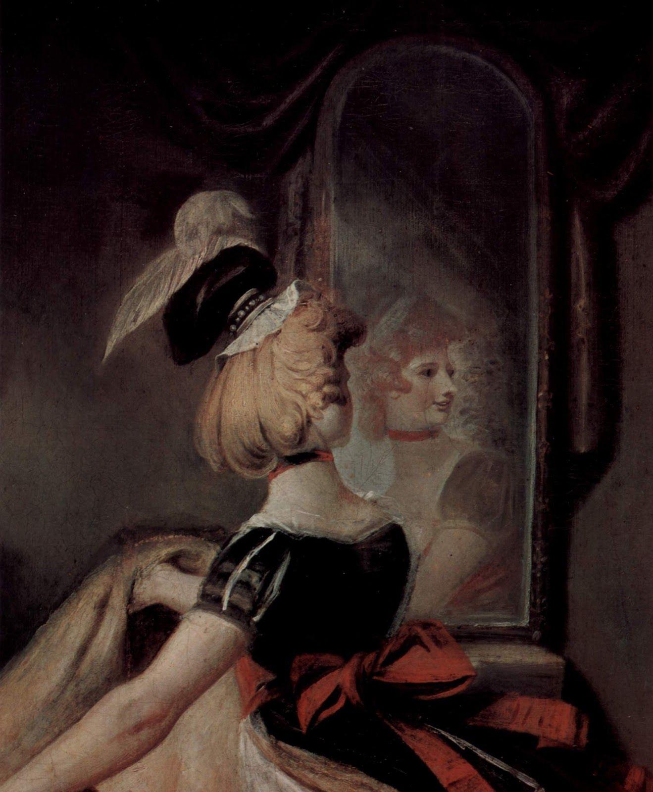 Henry Fuseli Falstaff In The Laundry Basket 1792 Detail