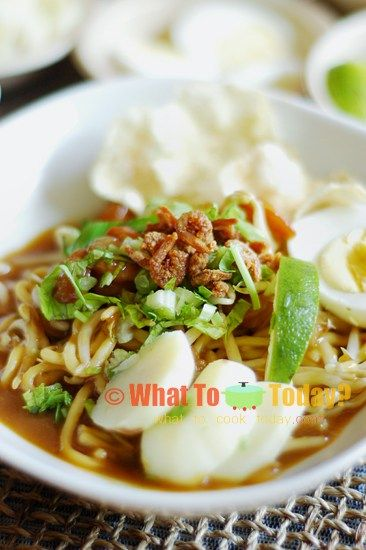 Mie Rebus Medan : rebus, medan, REBUS, INDONESIAN, BOILED, NOODLES, GRAVY, Asian, Noodle, Recipes,, Authentic, Recipes