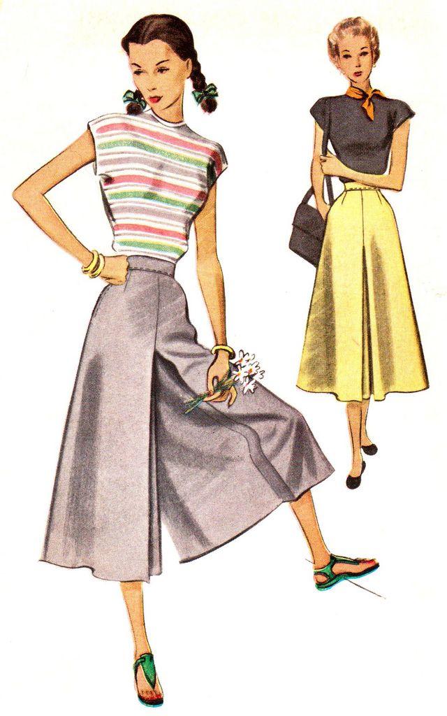 Vintage 1940s Coolots Size 24 Mccalls 7198