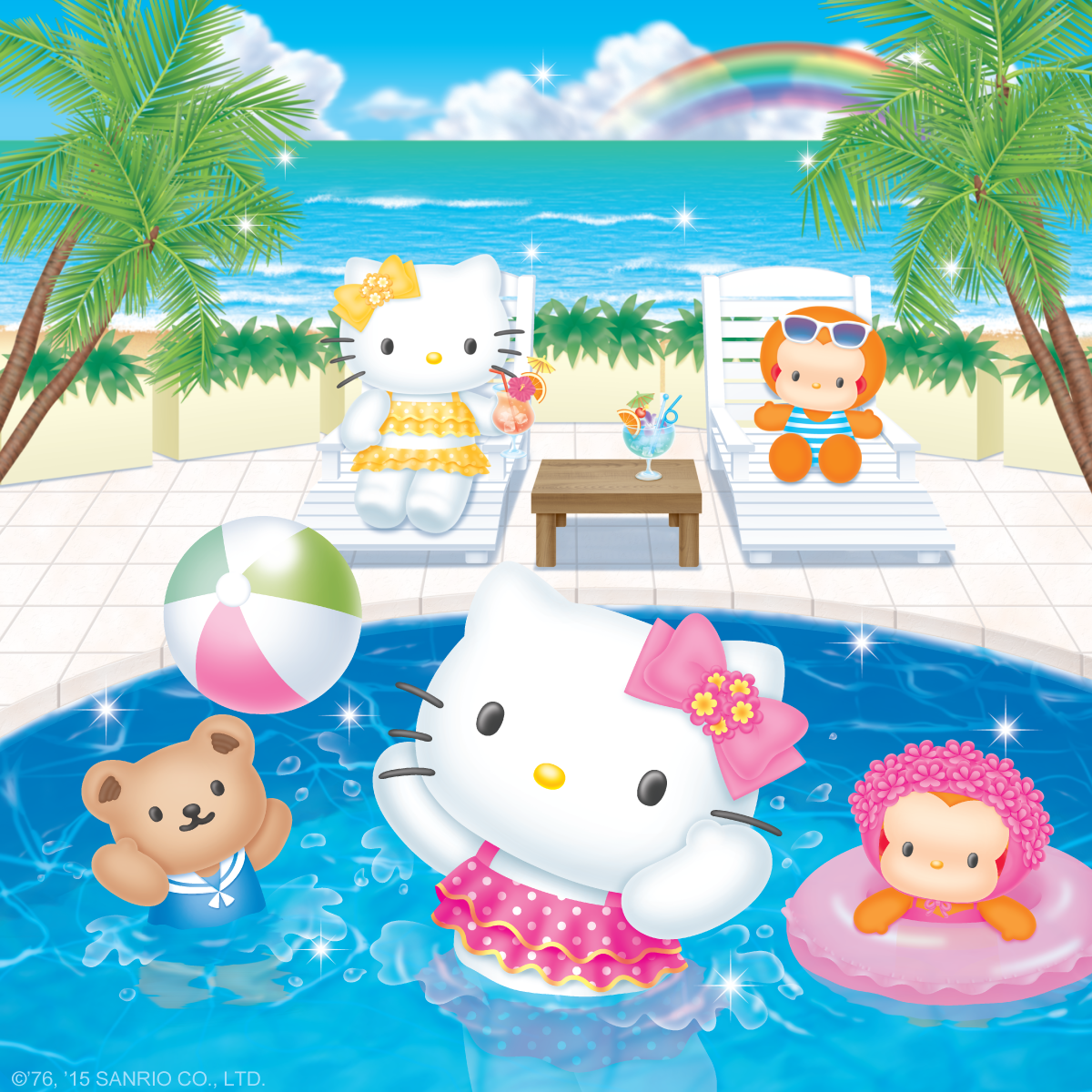 Amazing Wallpaper Hello Kitty Summer - d0b8c3bd41cae68ea35503751532ce43  Picture_100656.png