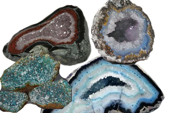 Succulents and Geode Rocks for a Perfect Table Display ...